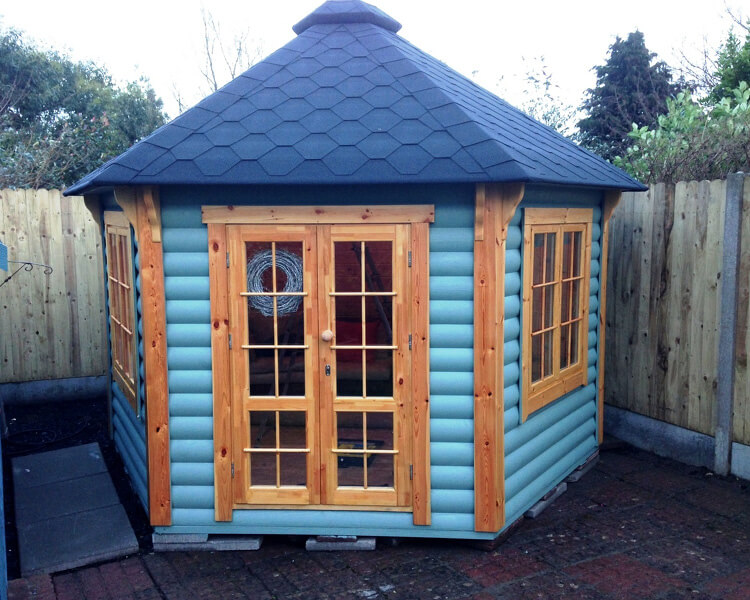 Victorian Style 9.2 sq.m. BBQ Hut