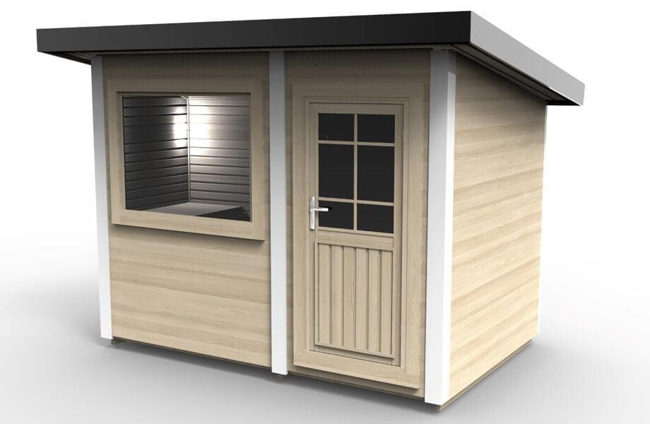 2.3 m Cabin Sauna