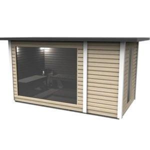 Cabin Sauna 2.3 x 4.3