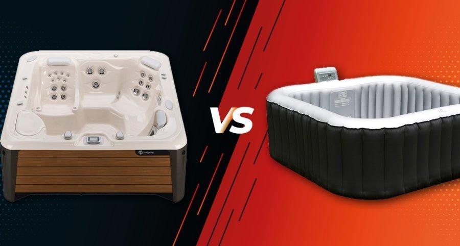 Hard Shell VS Inflatable Hot Tubs